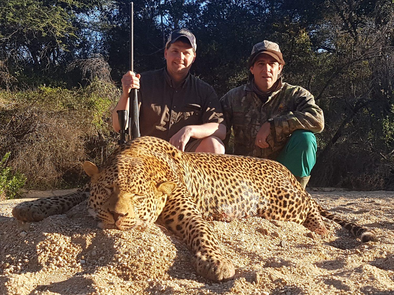Umdende Hunting Safaris Leopard